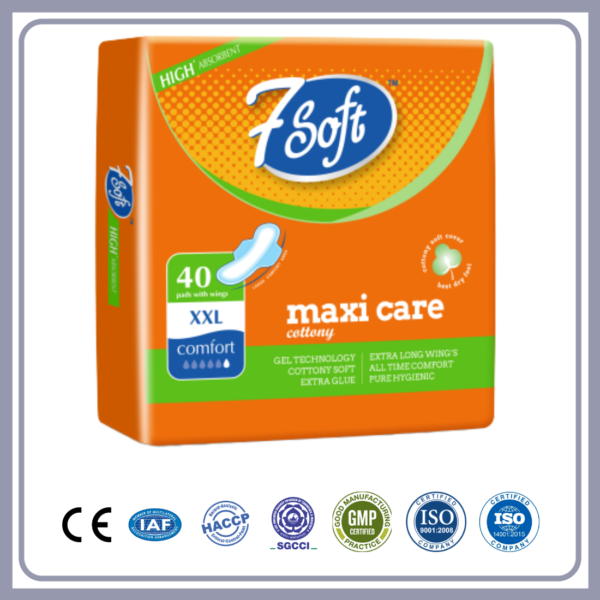 7 Soft Maxi Cottony Care XXL – 320 mm